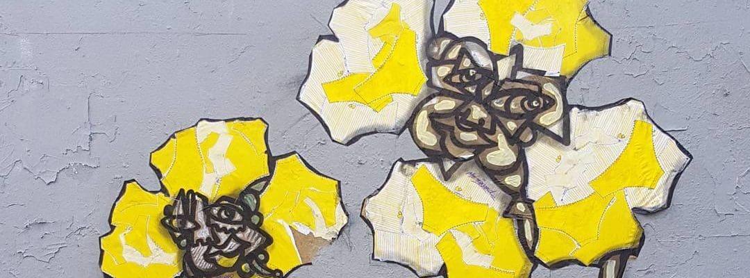 Quand Ronsard pécho Mignonne – Street art par Fetavie et Mr Renard, Paris