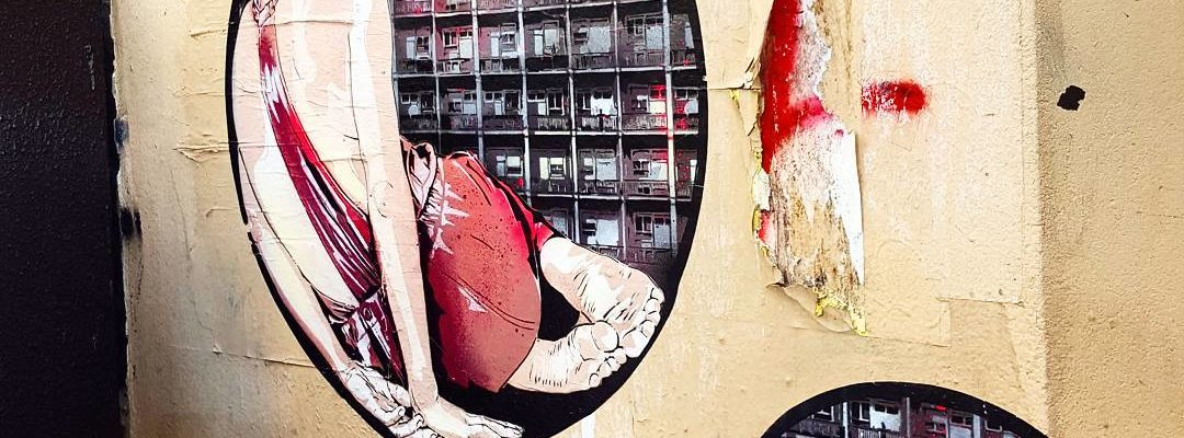 Vie moderne – Street art de Jana & JS, Paris