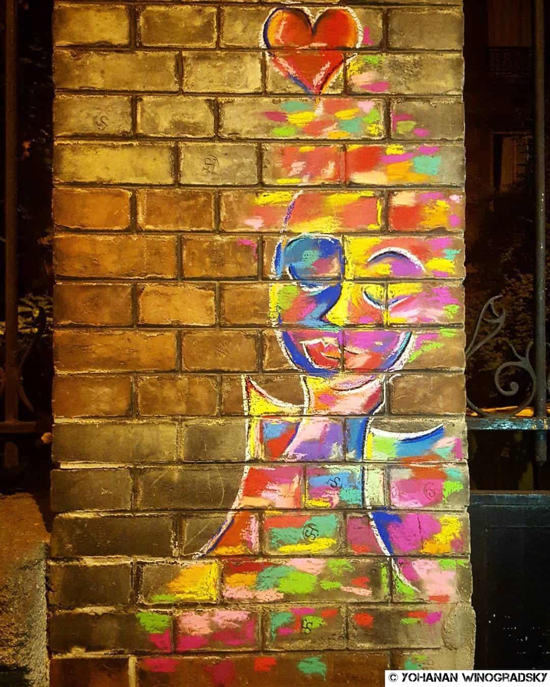 street art par marie aschehoug clauteaux ange à paris