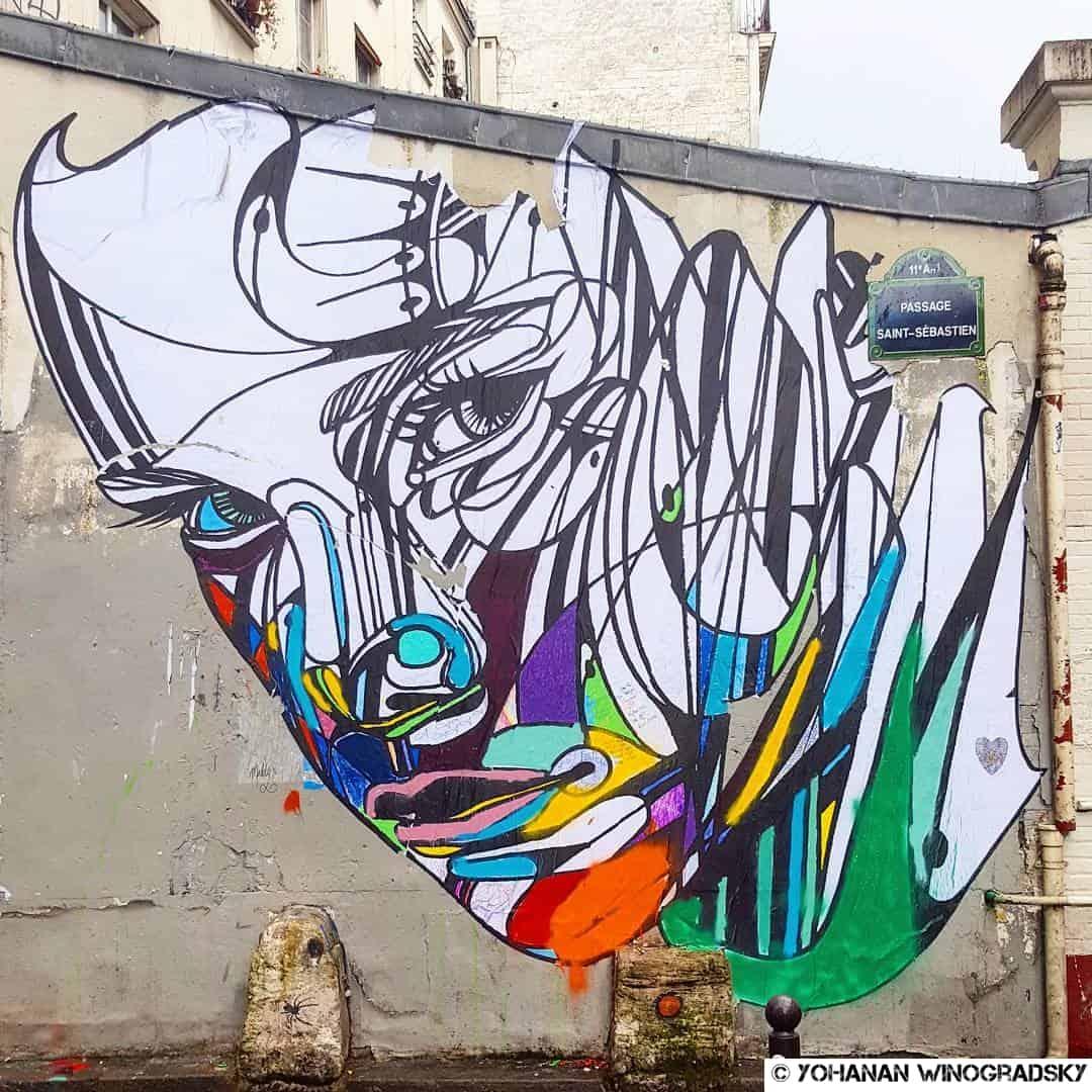 hopare street art paris