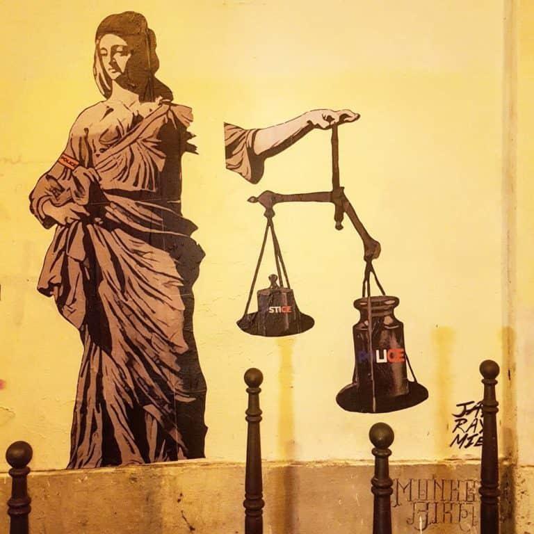 street art par jaeraymie à paris citation camus