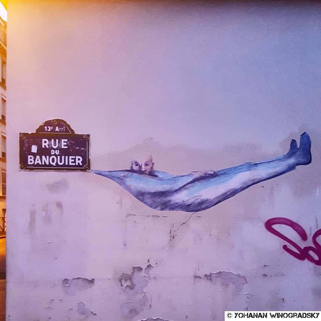 philippe herard rue du banquier street art paris