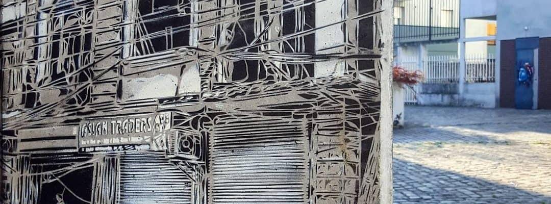 L'urbaniste, demain – Street art de c215, Vitry-sur-Seine