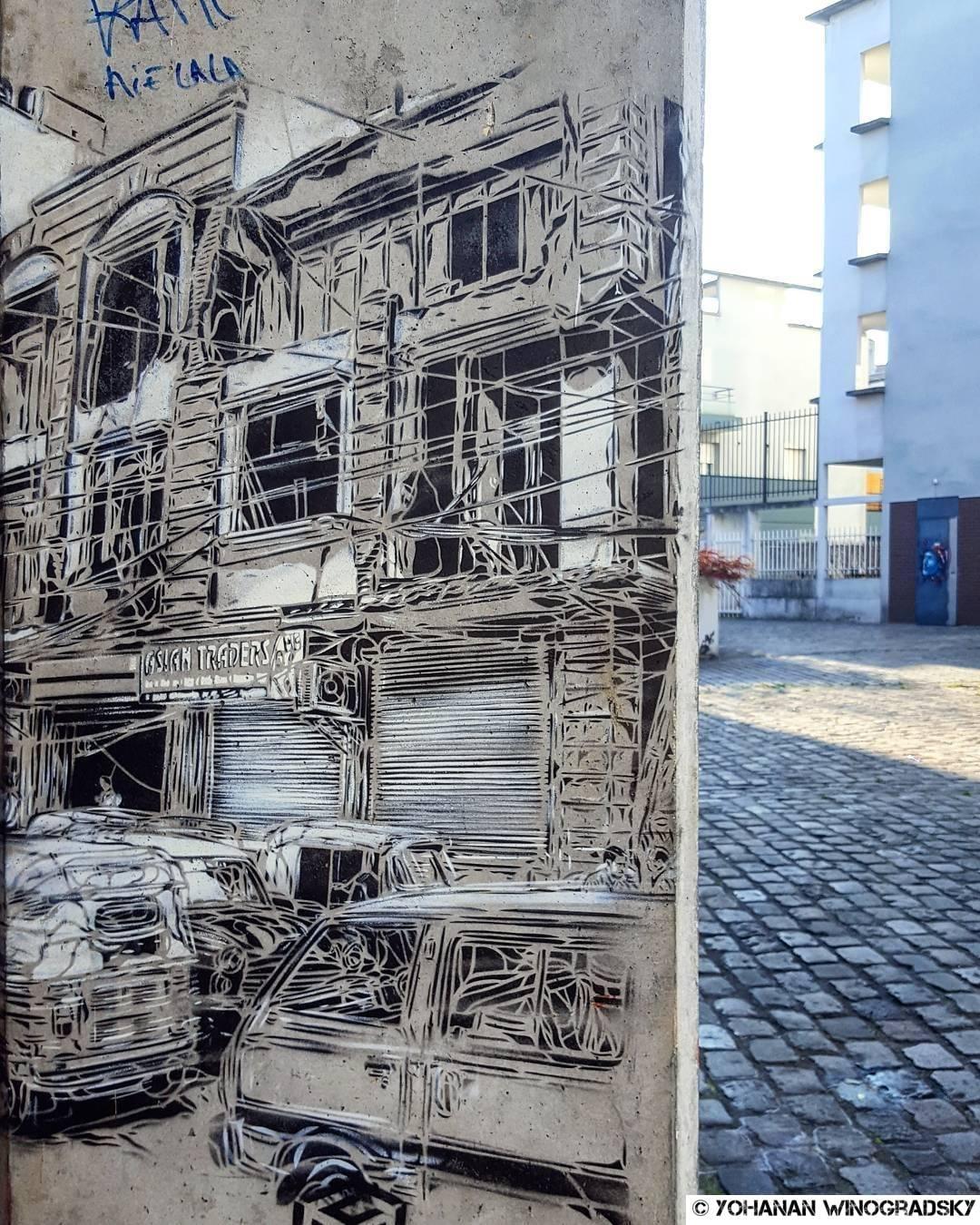 place par c215 street art à vitry sur seine