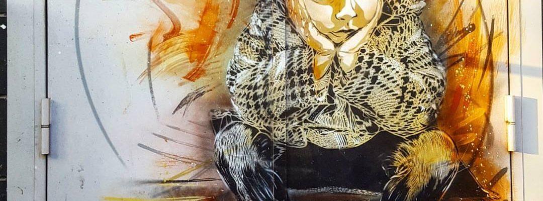 Le p'tit gars – Street art de c215, Vitry-sur-Seine