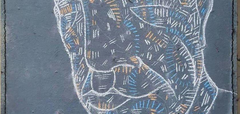 Il m'a cloué le bec – Street art par Matthieu, Paris