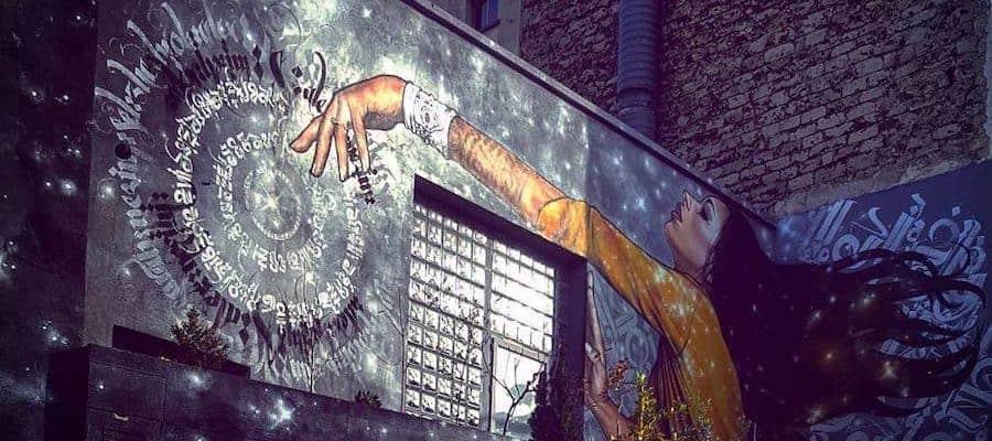 Vie de nerd – Streetart par Alex MAC 3HC & Nezim, Paris