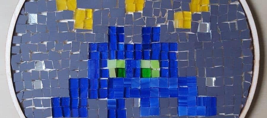 L'atelier mosaïques chez Mosaic Masta à Paris