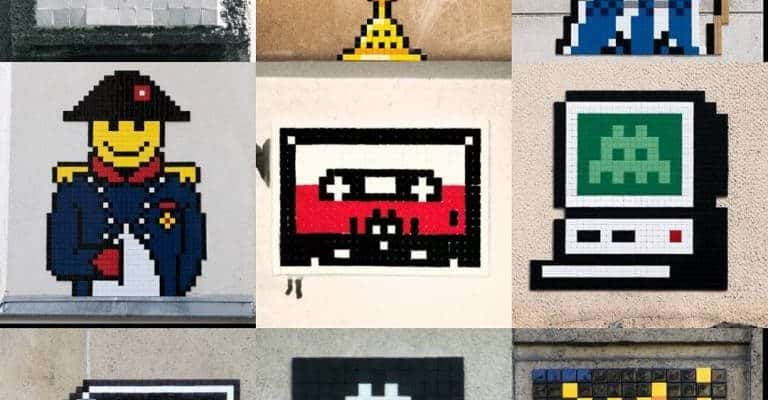 #invader3x3, challenge Invader instagram de The Fox & the Seashells