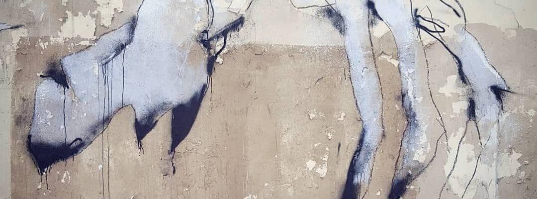 Forme du cauchemard – Streetart par Florian Marco, Paris