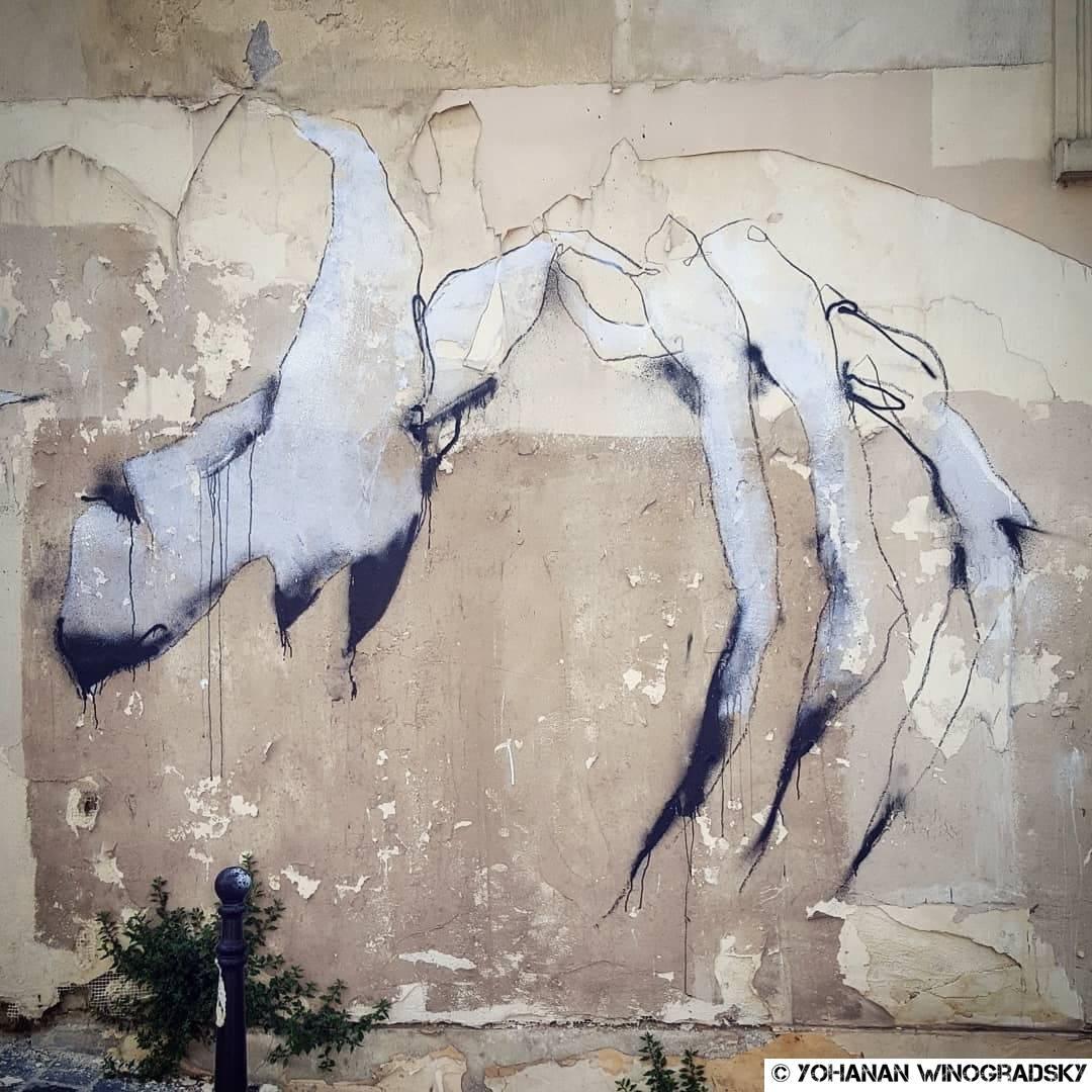 streetart à paris par florian marco rue de la mare