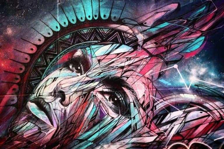 street art paris hopare rue des maronites mur du rêve