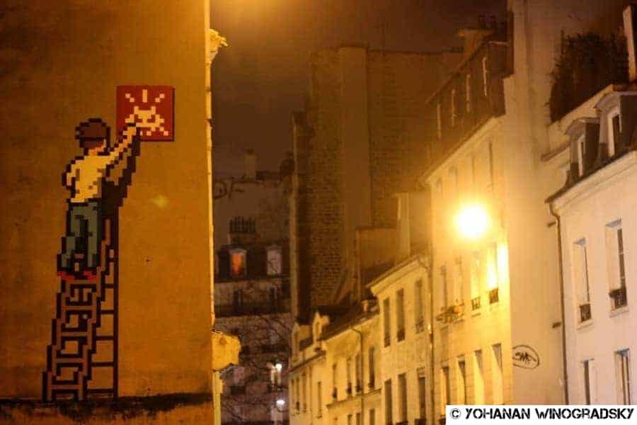 streetart par invader à paris pa-1336