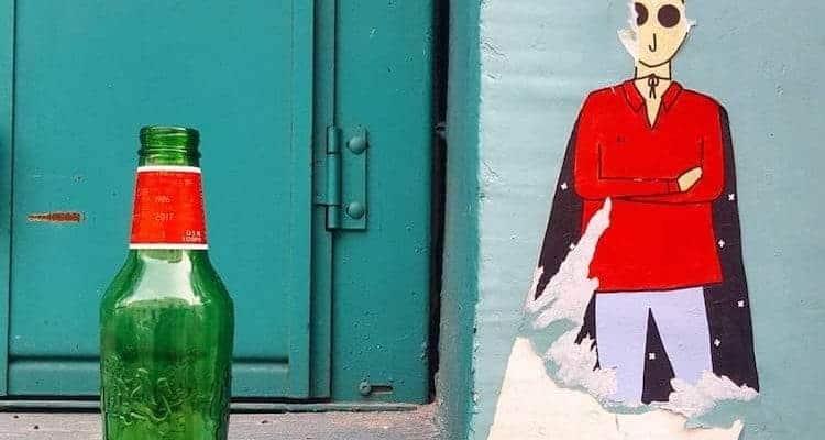 C'est la dernière fois – Streetart par Kam & Laurène, Paris