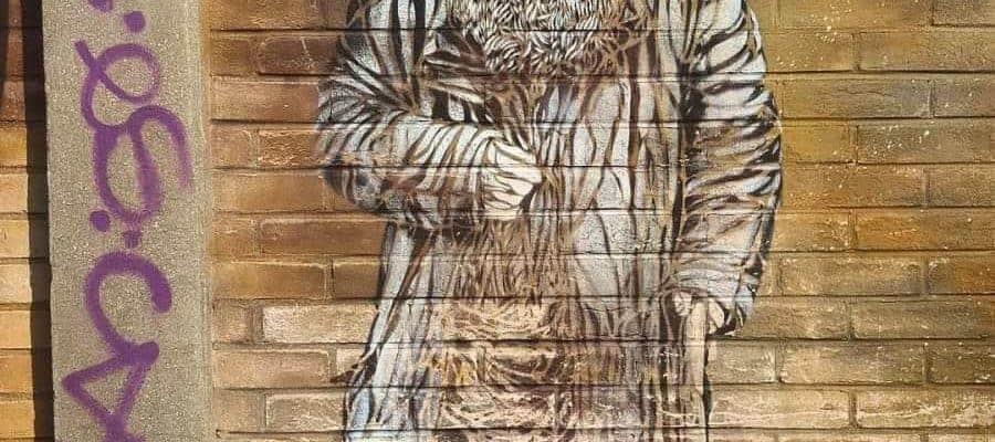 Témoignages de SDF – Street art par c215, Vitry-sur-Seine