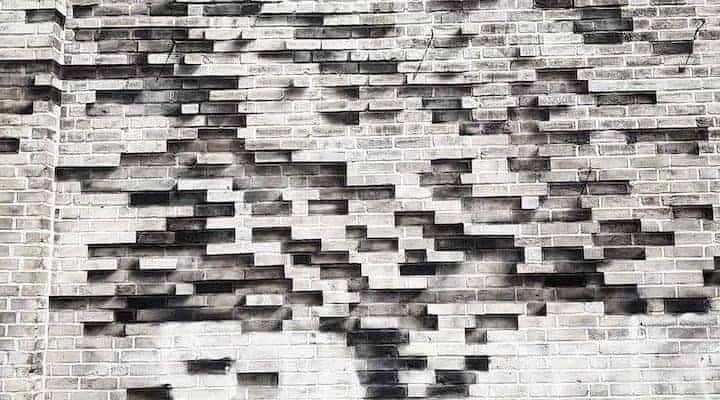 L'Arbre – Streetart par Pejac à Bushwick, New York