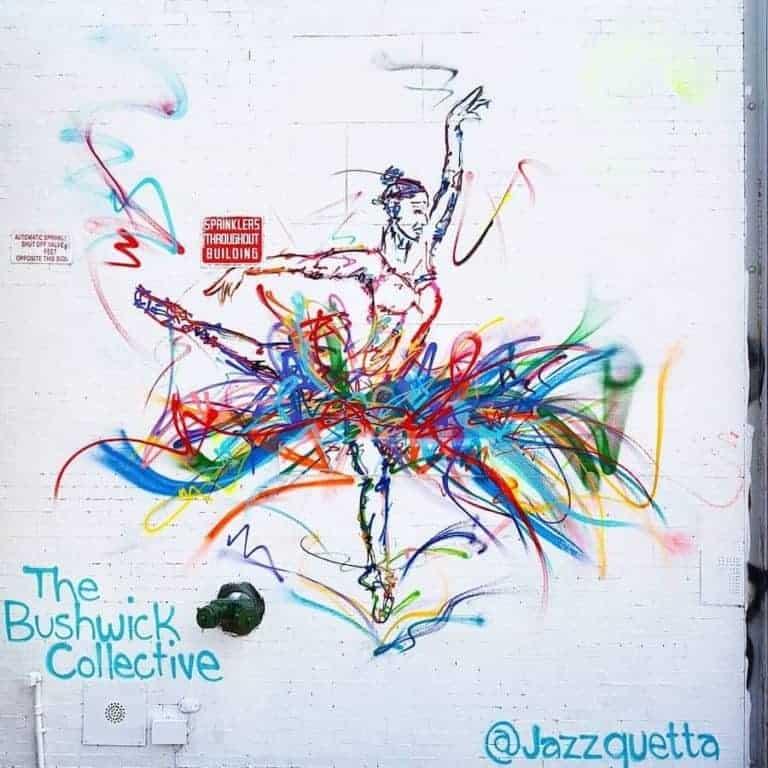 Let There Be Dance – Street par Jazzguetta à Bushwick, New York