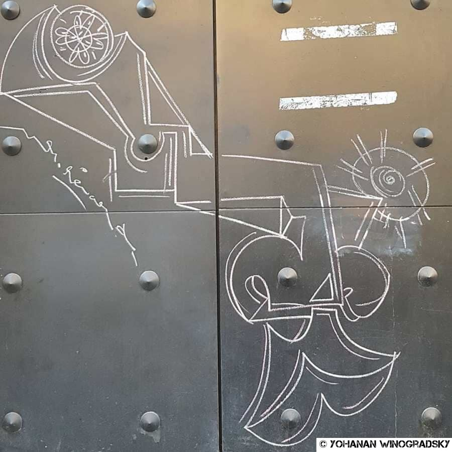 Grimaces – Streetart par Mr Renard, Paris