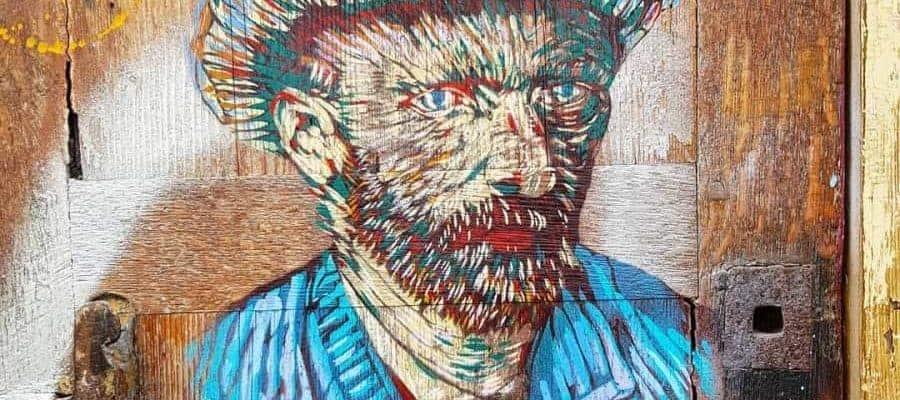 Vincent Van Gogh – Streetart par Smile, Paris