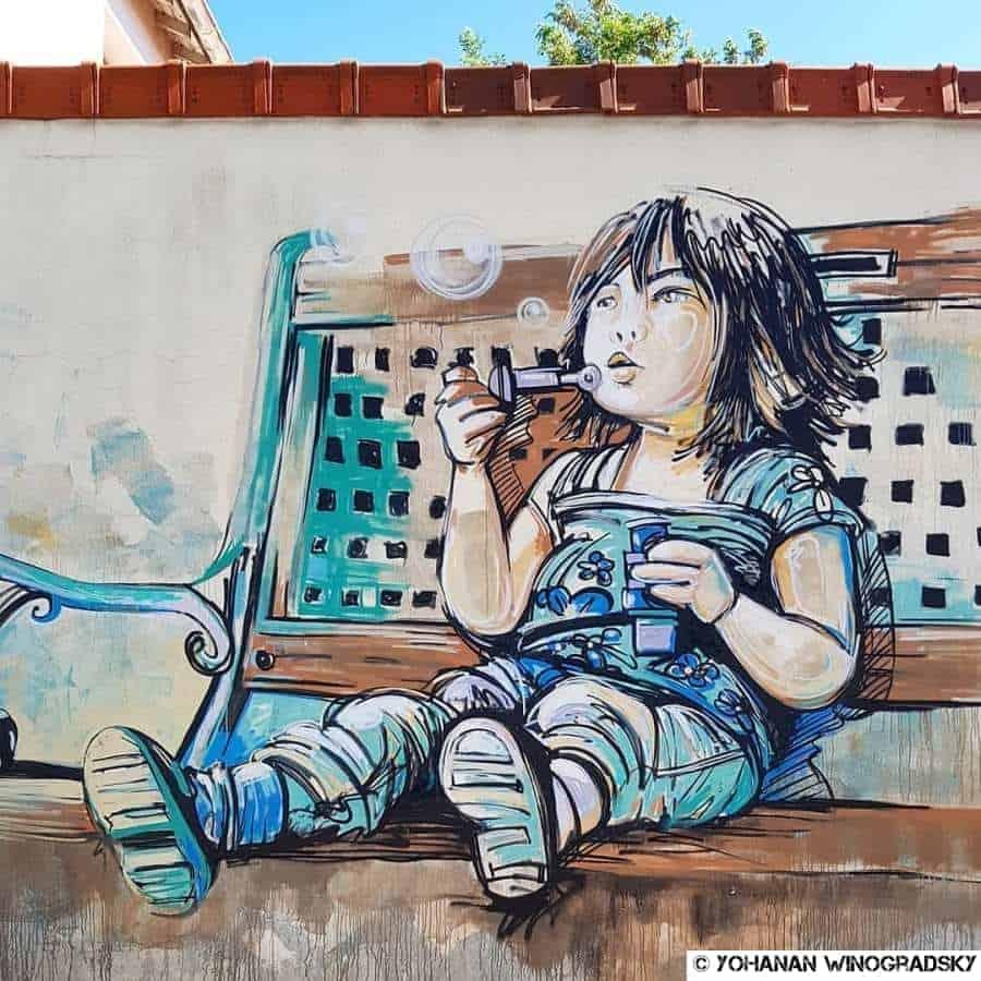 streetart par alice pasquini à vitry sur seine