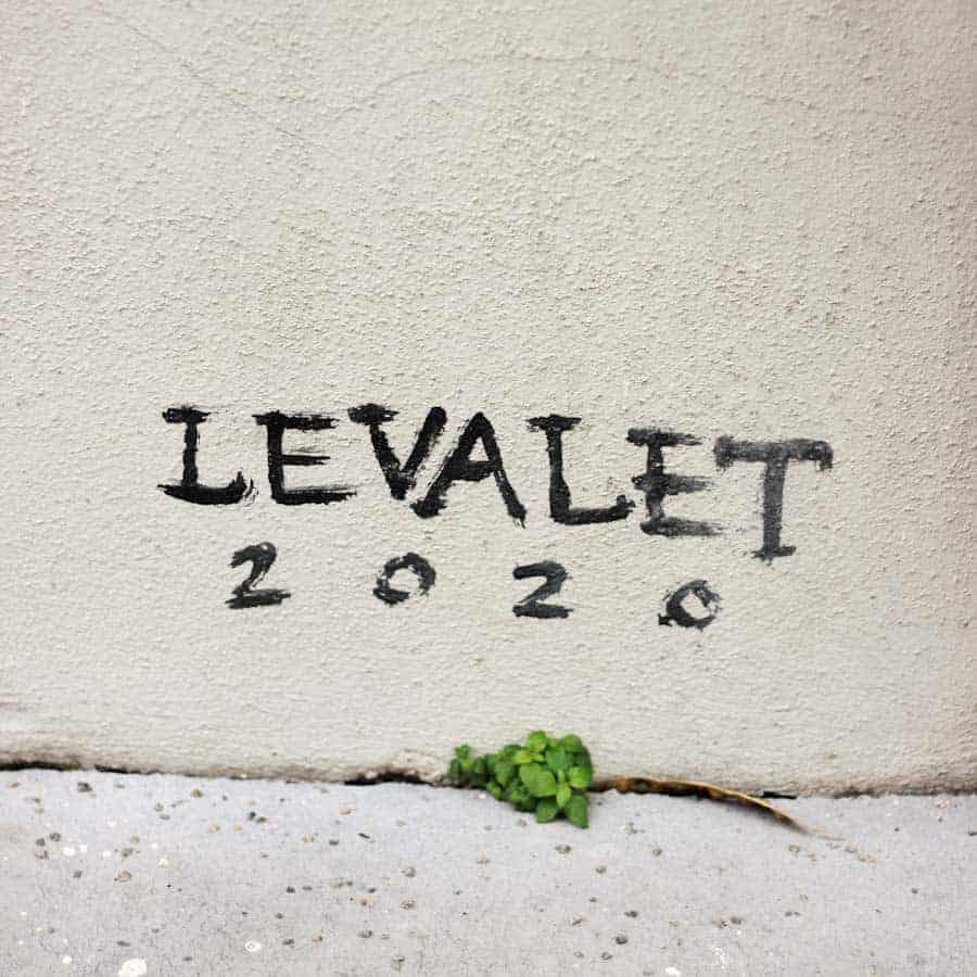 levalet odyssée street art paris